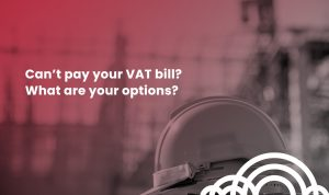 cant pay VAT bill options